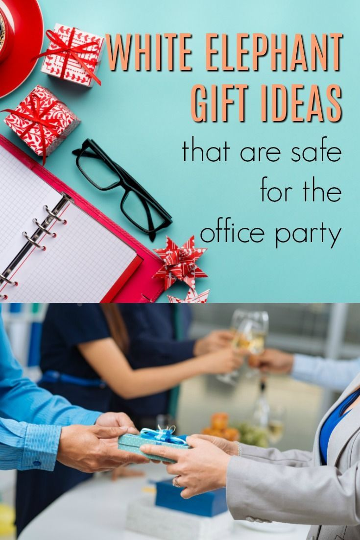 20 white elephant gifts that are safe for the office