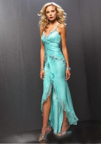 Aqua Cocktail Dresses - Ocodea.com