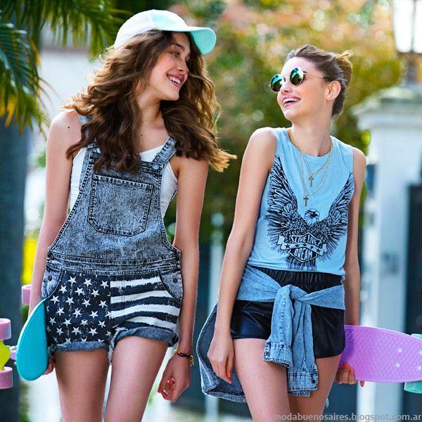 Como Quieres Que Te Quiera Primavera Verano 2015 Moda Juvenil Color Y Estampas Ropa Ropa Argentina Moda Adolescente