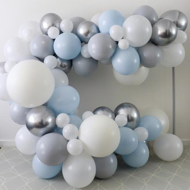 """""""Winter Wonderland"""" DIY Ballon Girlanden Set – Die Pop-Up Party Co.   – Winter wonderland birthday party"""