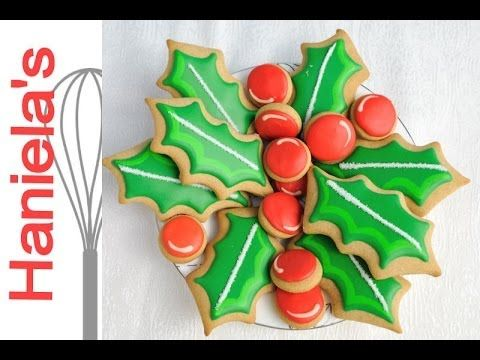 Pin By Haniela S On Haniela S Video Tutorials Christmas Biscuits