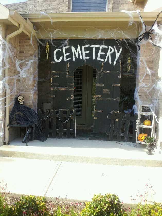 46 Successful Diy Outdoor Halloween Decorating Ideas Nobody Told