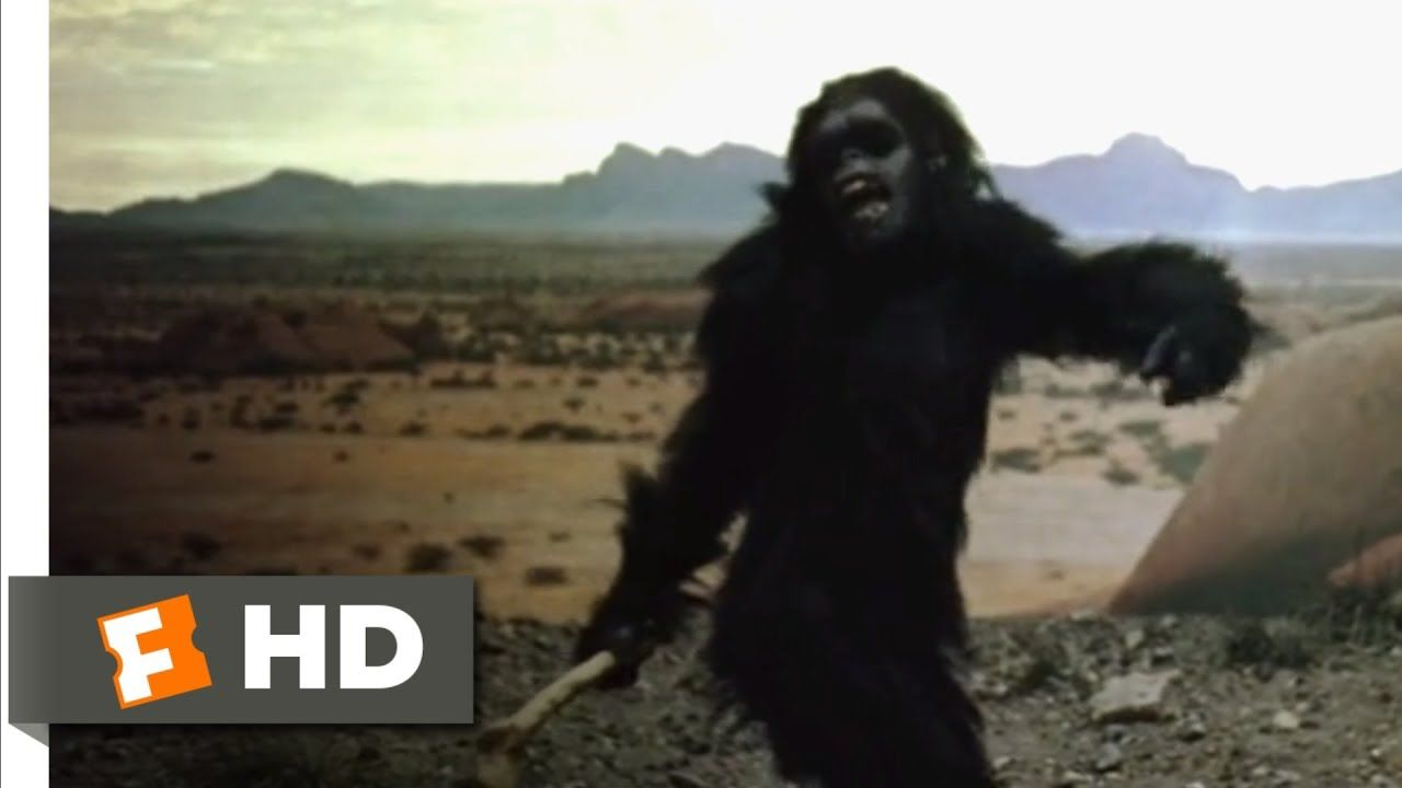 2001 A Space Odyssey 1968 From Bone To Satellite Scene Space Odyssey Classic Trailers We Movie
