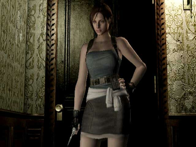 Jill Valentine Re Remake Alternate Outfit Resident Evil Jill