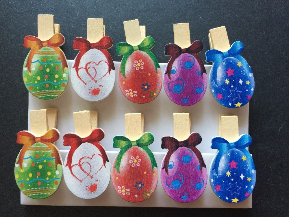Find more party favors information about 10pieces colorful eggs find more party favors information about 10pieces colorful eggs wooden peg garland kids easter wooden clips wood pegs for easter party decorative gift negle Gallery