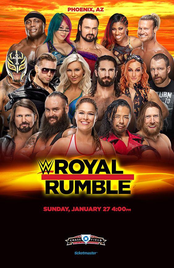 WWE Royal Rumble 2019 in 2020 Wwe royal rumble, Royal