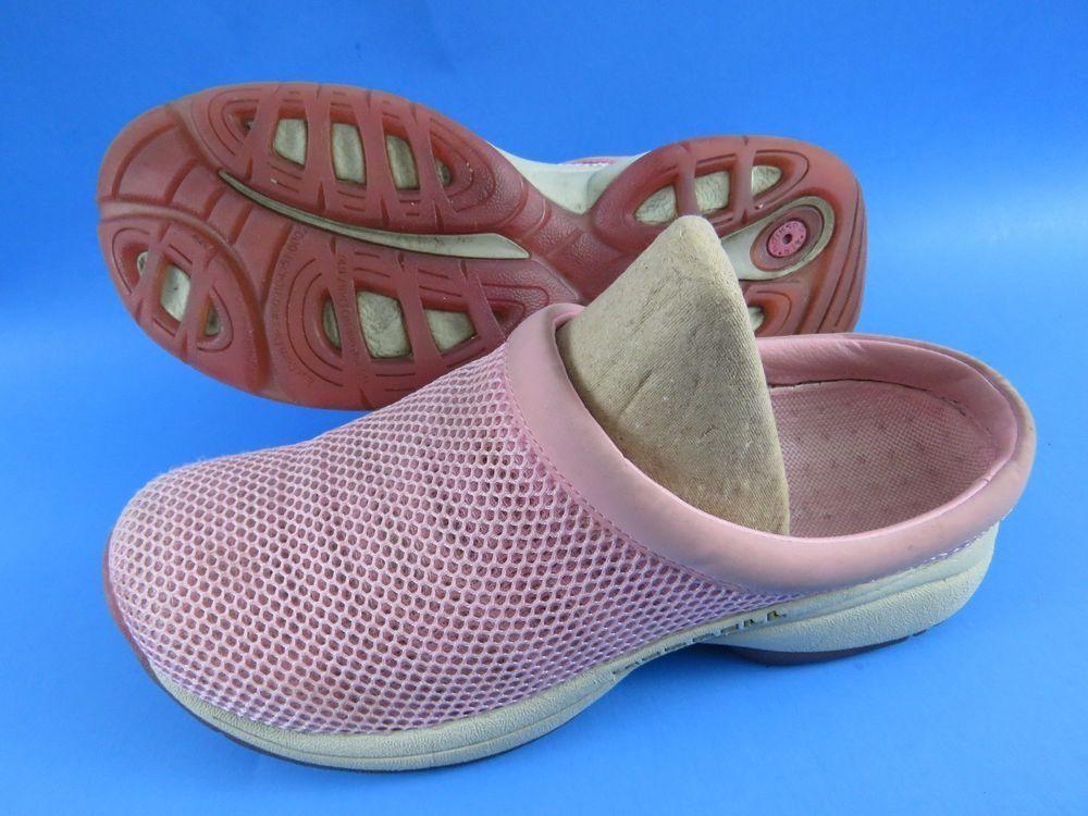 b0be7f68b9a1 MERRELL Primo Breeze II Light Pink Mesh Slip On Clogs Shoes Women s Size 9   Merrell  Mules