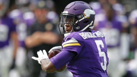 Bridgewater injury could sink Vikings' hopes