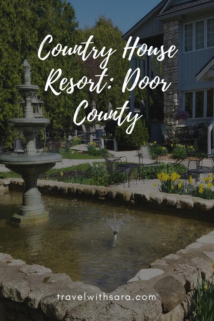 An Adult Getaway In Door County Wisconsin Country House Resort