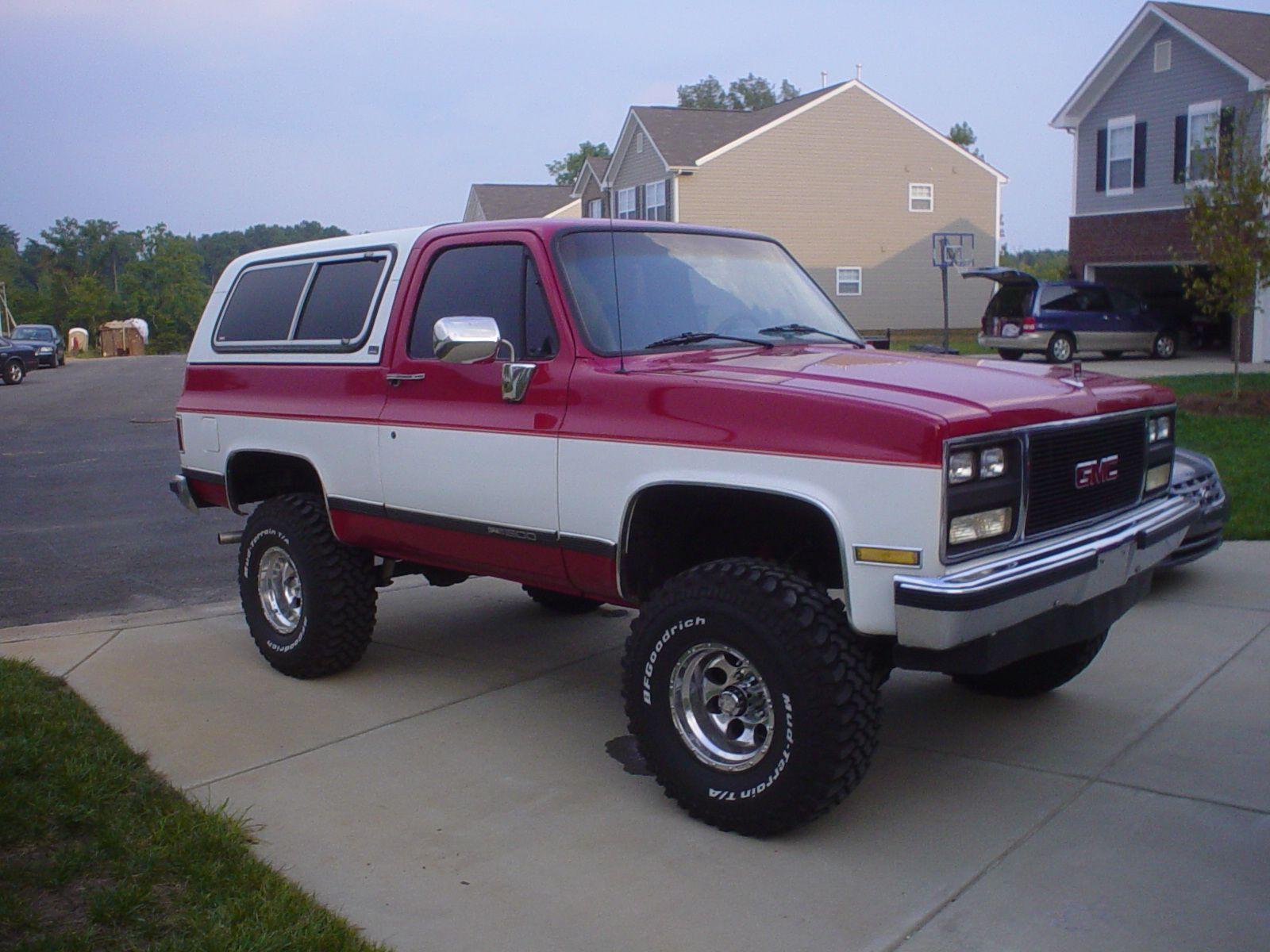 1989 Gmc Jimmy Pic 49650 Jpeg 1 600 1 200 Pixels Gmc Chevrolet