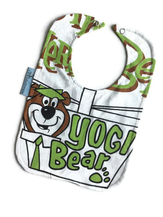Yogi Bear Bib Baby Shower Gift