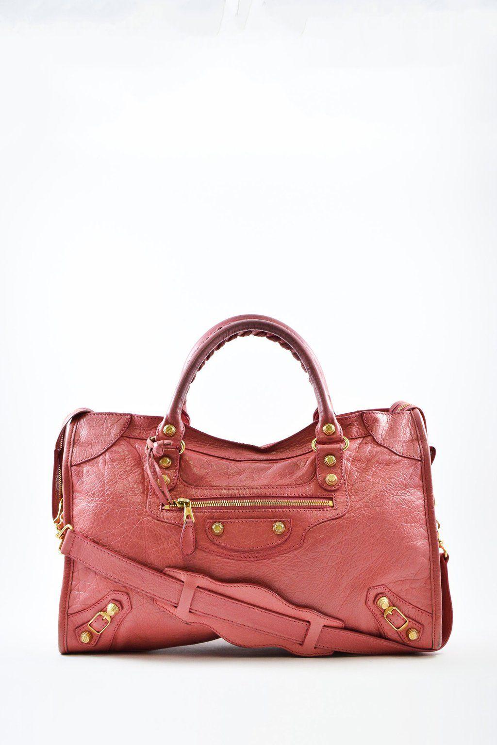 0db030e79f7 Balenciaga Pink City Crossbody Bag | SHOP OUR BAGS | Bags ...