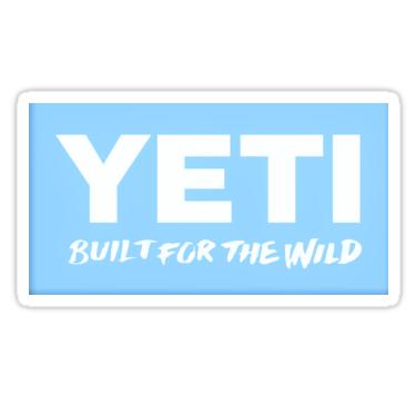 Blue yeti logo sticker by corinthiabrooke