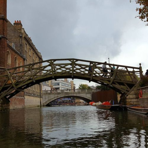 kyrosmagica:  More punting photos. This ones The Mathematical... My blog posts