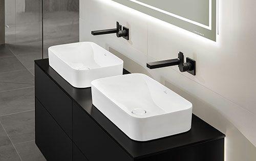 pin von jennifer broemmelmeyer auf einrichtung pinterest w sche badezimmer und waschtisch. Black Bedroom Furniture Sets. Home Design Ideas