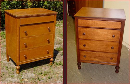 inspiration : American Curly Maple Four-Drawer Chest of Drawers | Otherwise  Antiques - Inspiration : American Curly Maple Four-Drawer Chest Of Drawers