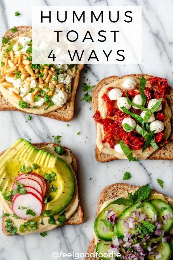 Hummus Toast   - Fitness Recipes - #Fitness #Hummus #Recipes #Toast -  Hummus Toast   – Fitness Reci...