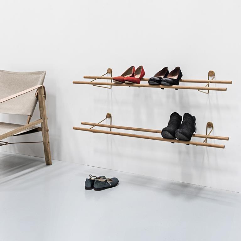 Schoenenrek Voor Aan De Wand.We Do Wood Wand Schoenenrek In 2019