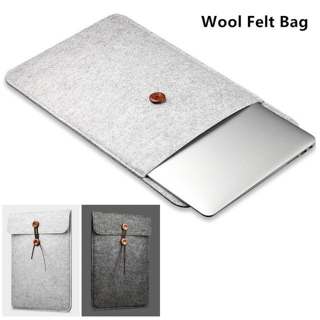 "2019 Felt Sleeve Case For MacBook Laptop Air Pro 11"",12"