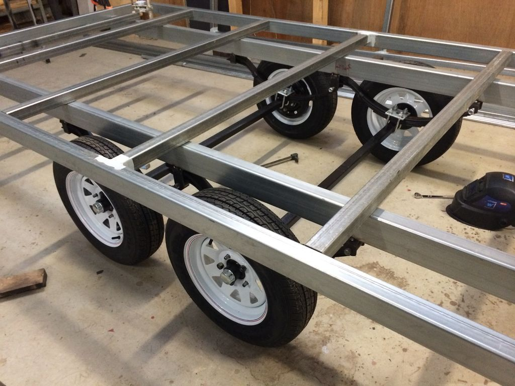 Three Trailers in One - Box, Car and Flat Top. the Box Top Trailer ...