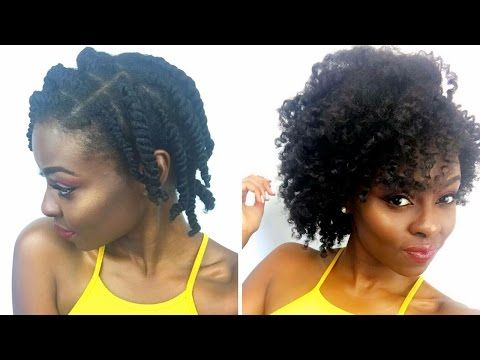 The Perfect Twist Out For Neck Length 4c Hair Youtube Natural Hair Styles Damp Hair Styles Short Natural Hair Styles