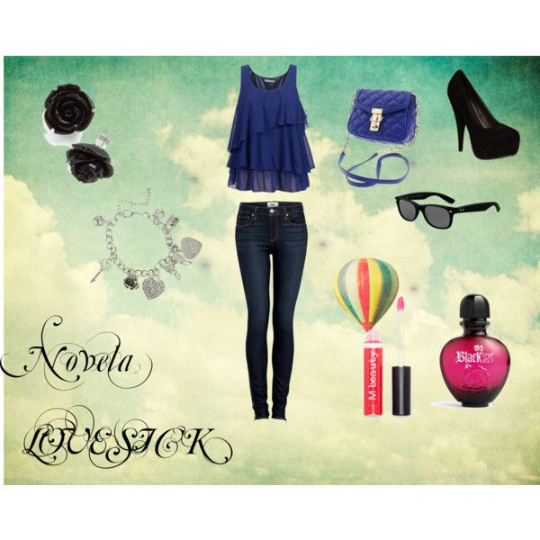 Novela LOVESICK♥, created by delcy on Polyvore