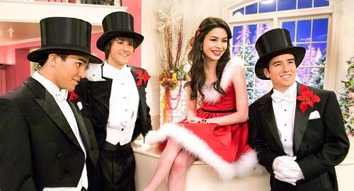 miranda cosgrove big time christmas photos especial de big time rush big - Big Time Rush Christmas