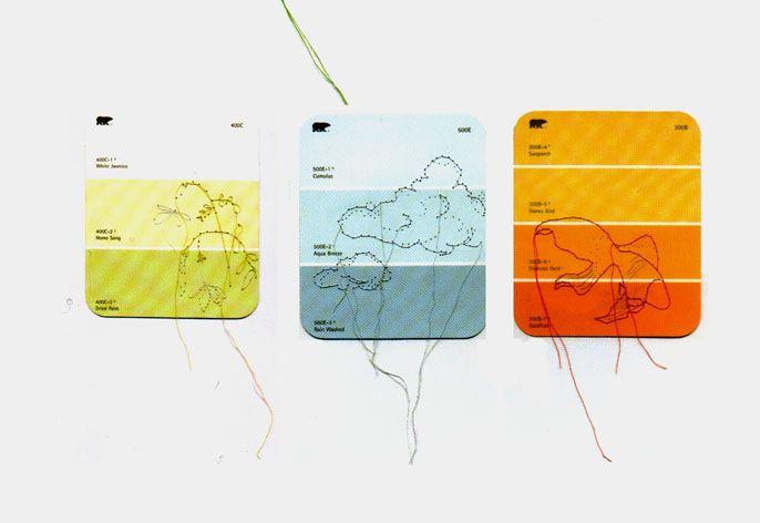 Lisa Solomon, Embroidery