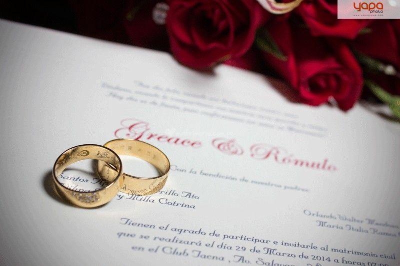 20 Frases Para Grabar En Tus Aros De Matrimonio Anillos De