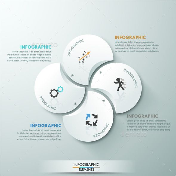 Modern Infographic Circle Template Infographic, Infographics and - circle template