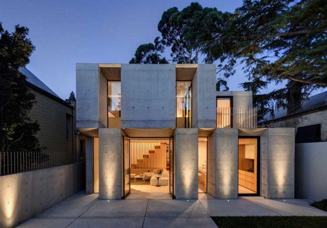 Transformation maison victorienne en maison contemporaine