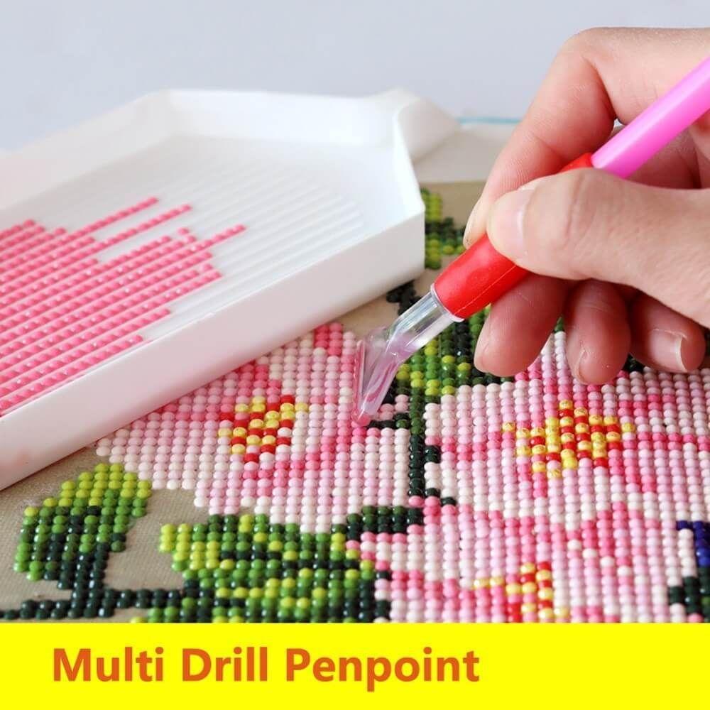 DIY Diamond Embroidery Painting Tools Art Craft Large Tray Cross Stitch  Kits