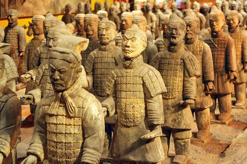Terracotta Warriors by Victor Keech, via Flickr