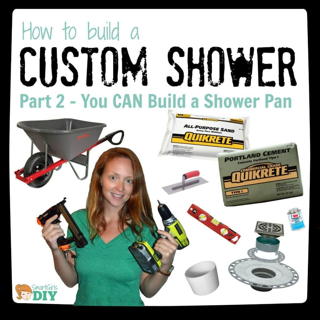 Best Bath Shower Pans The 25 Best Diy Shower Pan Ideas On Pinterest Diy