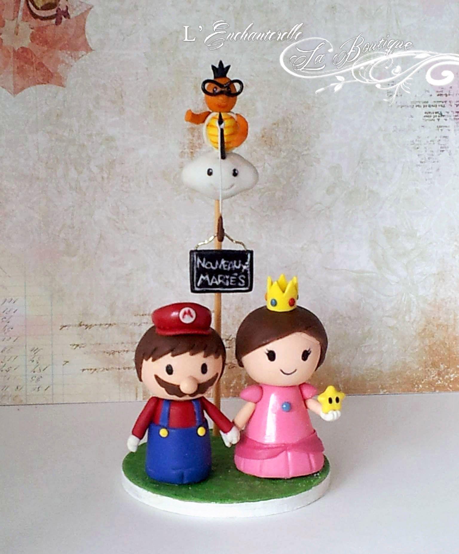 Beautiful Mario Wedding Cake Topper Ornament - The Wedding Ideas ...