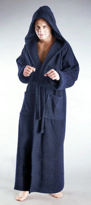 b03c9baeb7 Amazon.com  Bathrobes Online Mens and Womens Hooded Full Ankle Length  Turkish Terry Cotton Long Bathrobe - Made in Turkey - 5 Sizes up to 59  inches Length  ...