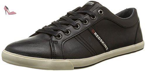 Redskins Tipazul, Sneakers Basses Homme, Noir (Noir/Blanc), 43 EU