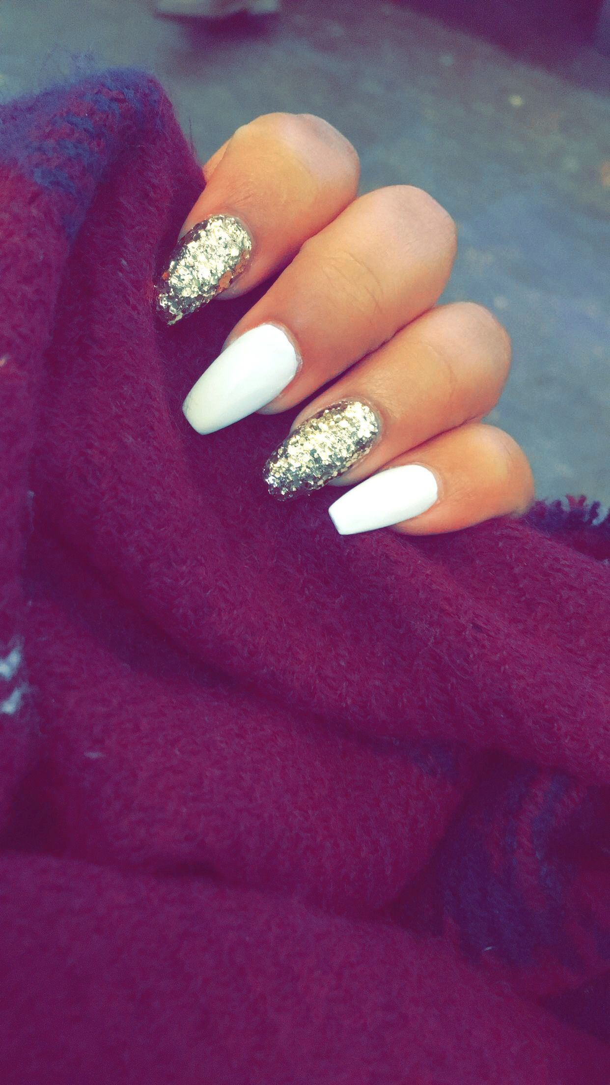 New Years nails Shellac nails, New year's nails, New