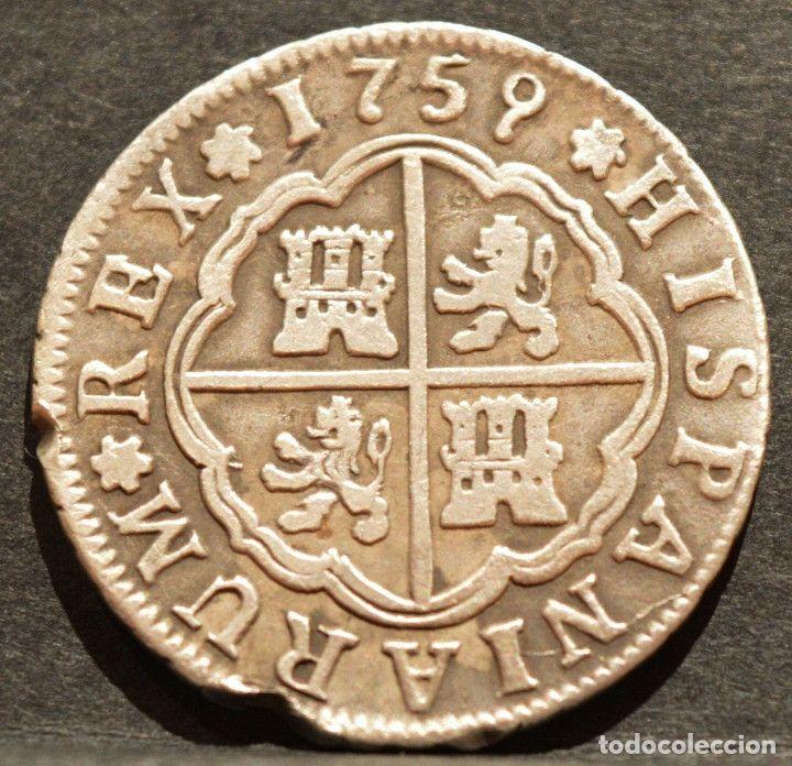 2 reales sevilla 1759 fernando vi plata #preguntassevilla