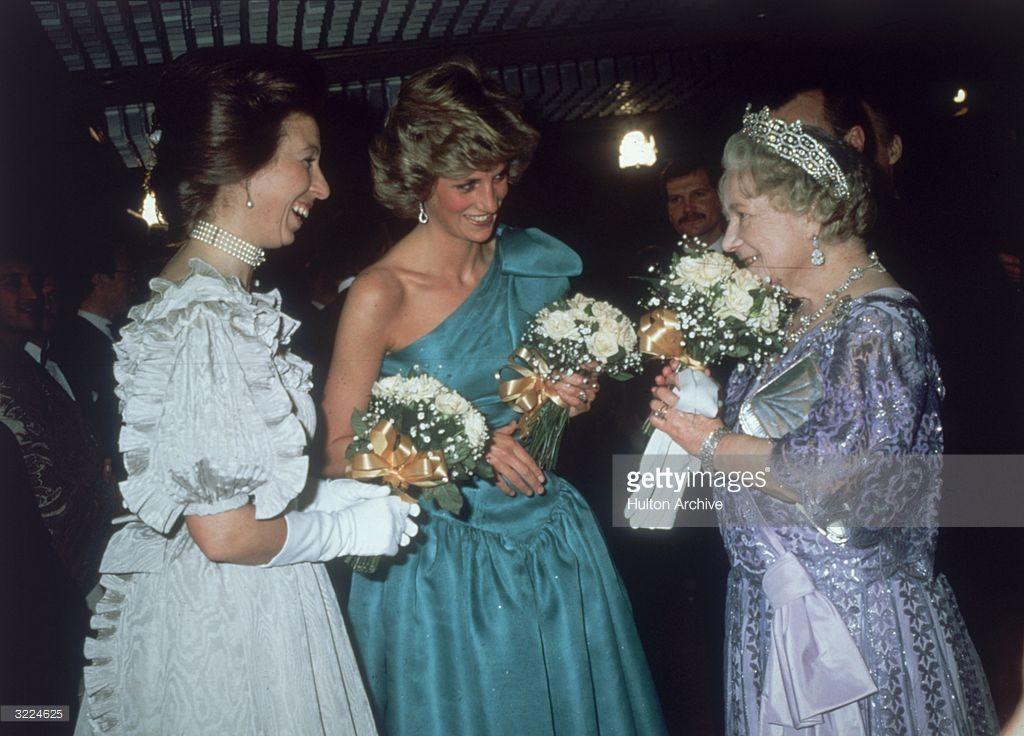 Princess Anne, The Princess Royal, Princess Diana