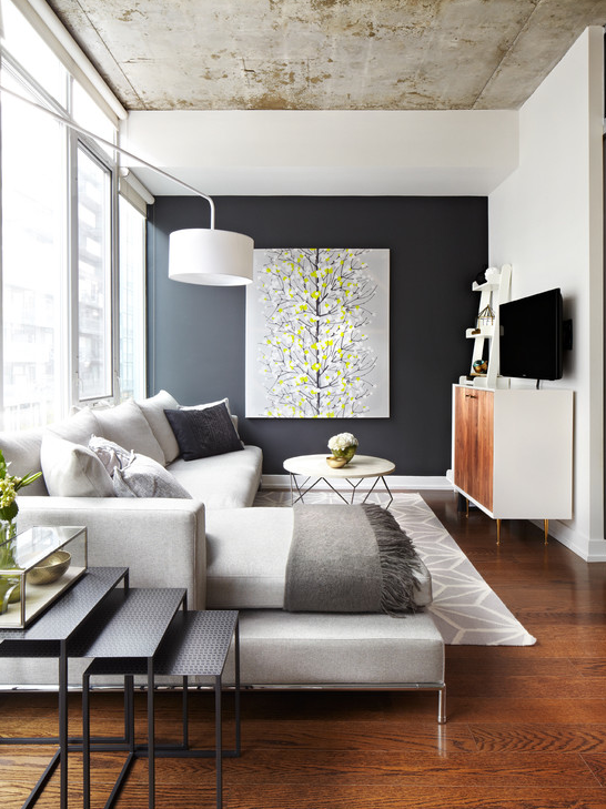 Ultra Modern Living Rooms For Hospitable Homeowners: Idée Déco Mezzanine