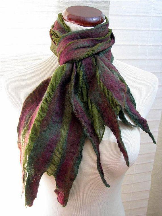 fullenstar.... nuno felt/silk scarf