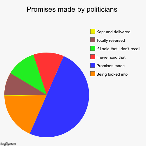 Promises Made By Politicians Being Looked Into Promises Made I