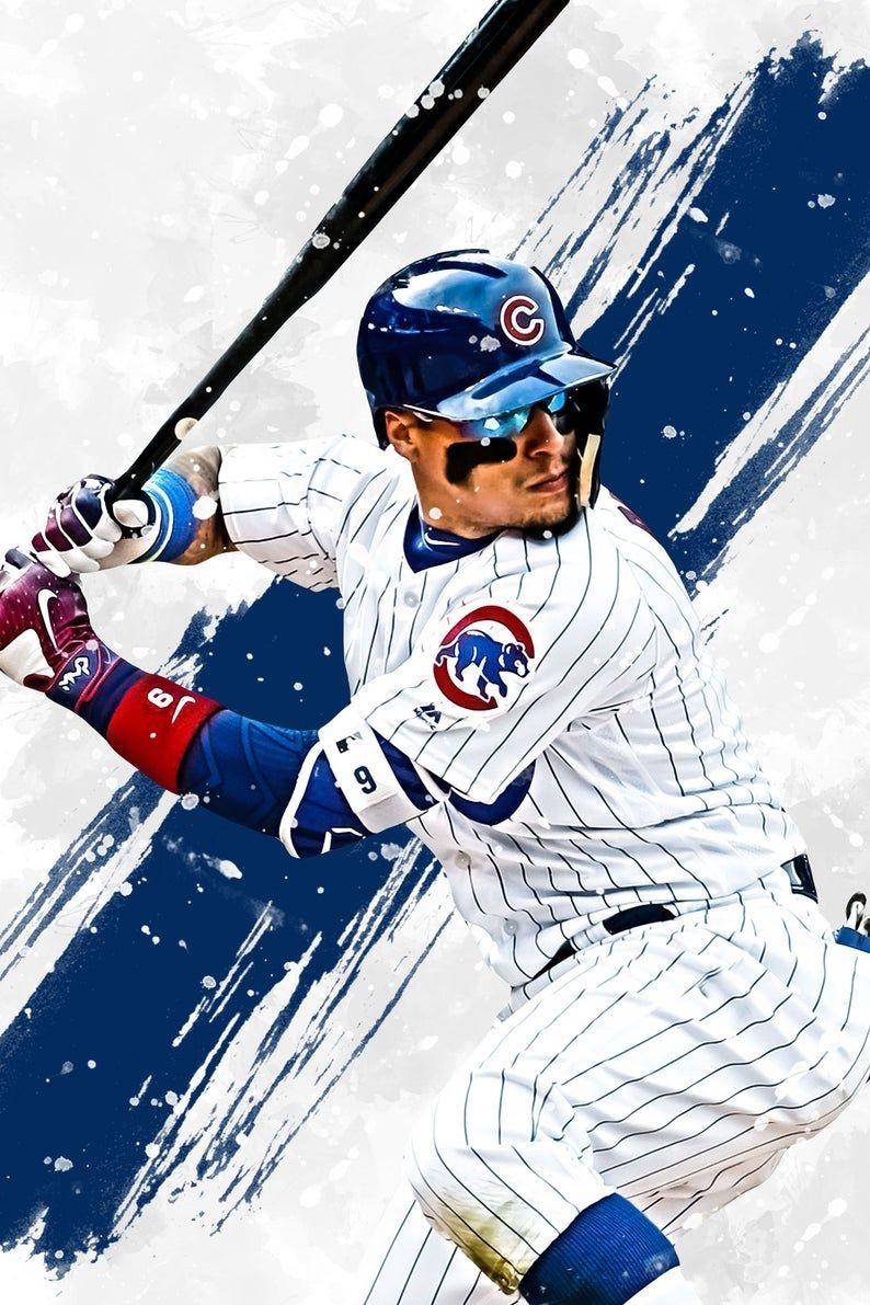 Javier Baez Chicago Cubs Poster Print Sports Art Baseball Etsy En 2021 Tatuajes De Beisbol Jugadores De Beisbol Liga De Beisbol