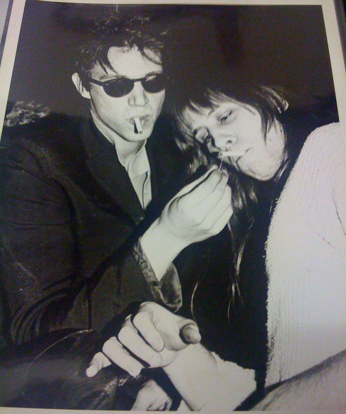 Richard Hell & Iggy Pop