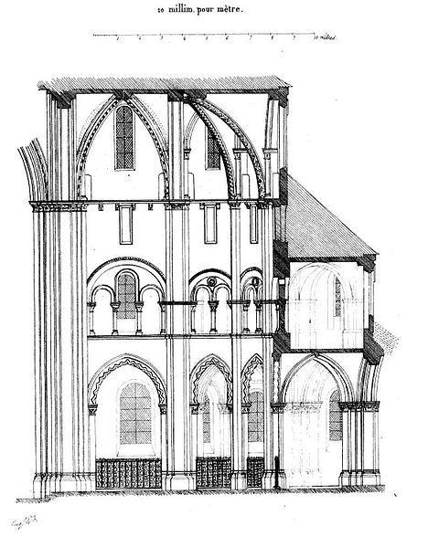 File:Saint-Germer-de-Fly (60), abbatiale, coupe longitudinale de l'abside.jpg