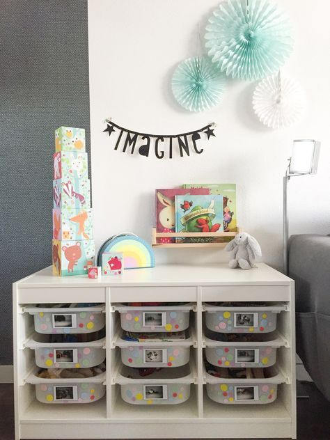Stauraum Ideen Ikea Trofast Hack Kinderzimmer Aufraumen