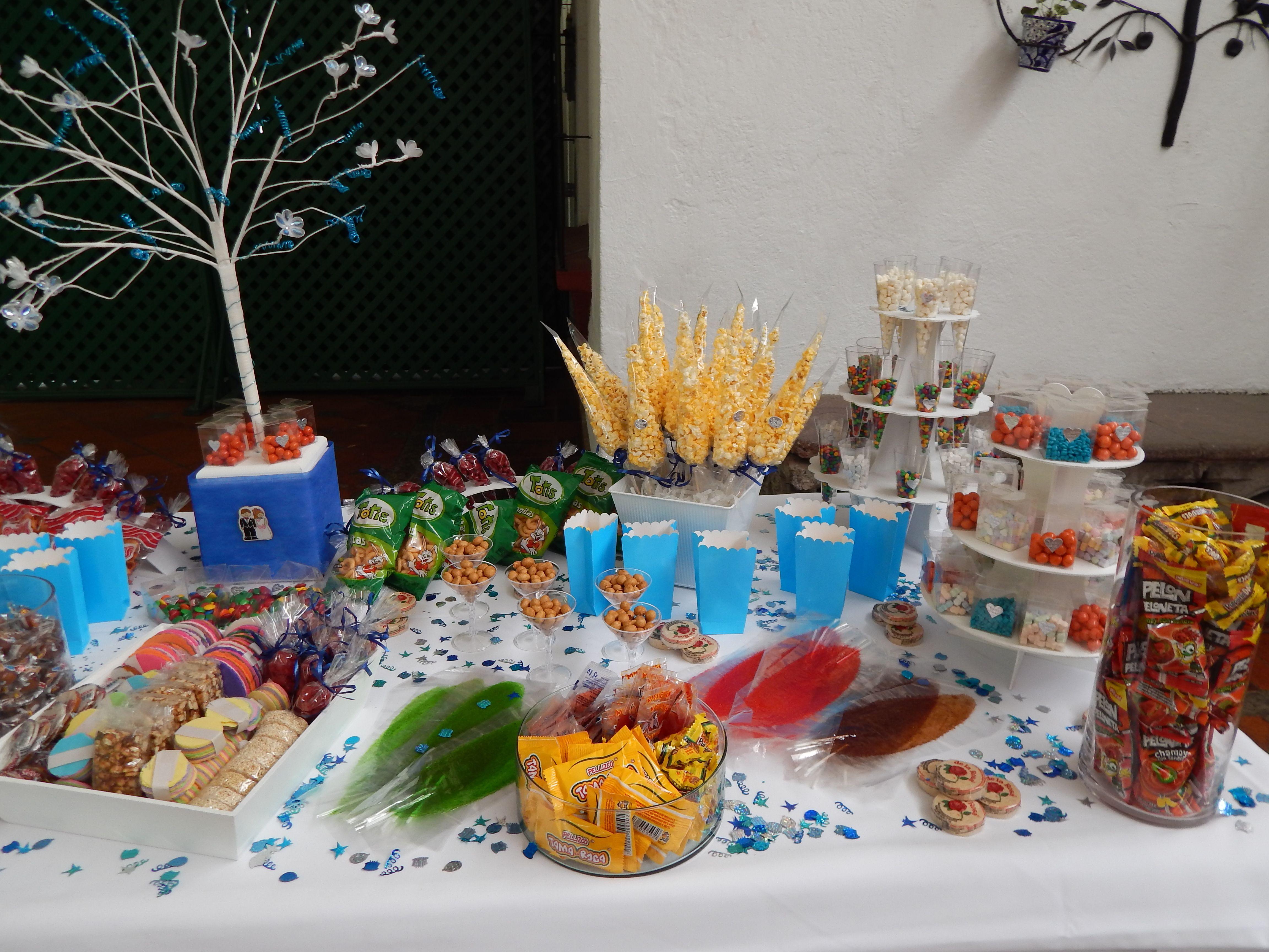 mesa de dulces en argovia finca resort