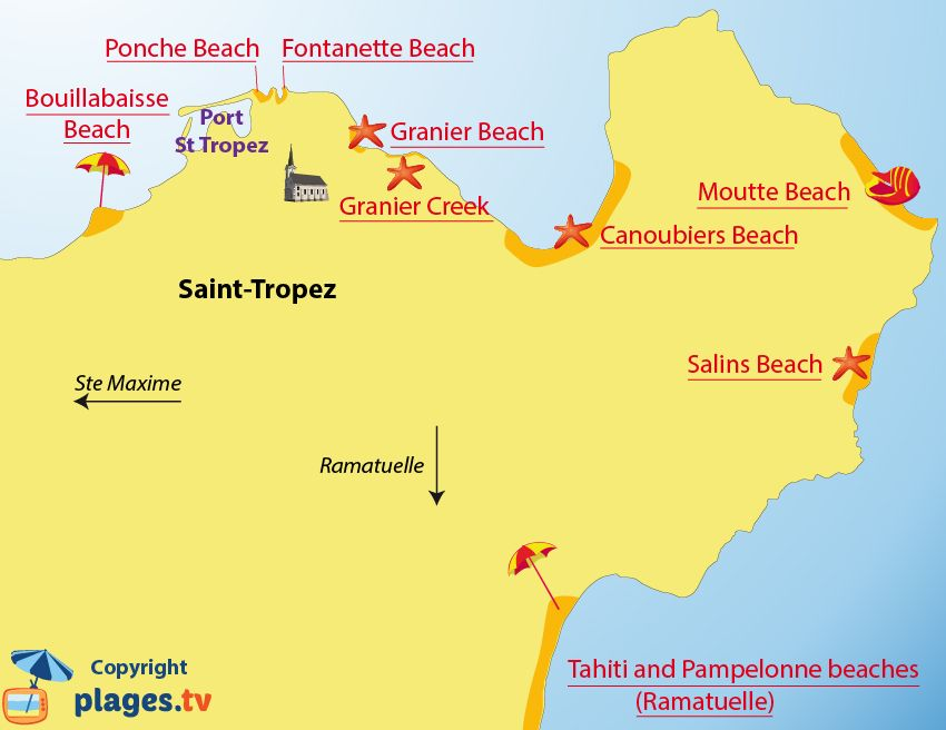 Carte Presqu île De Giens