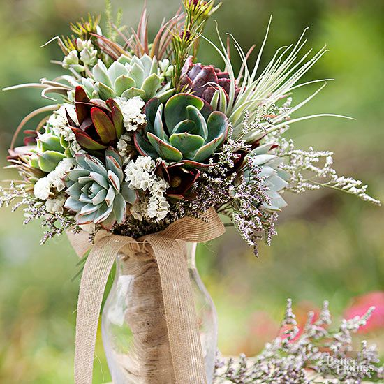 Wedding centerpieces ideas centerpieces wedding centerpieces and add a touch of earthiness to your wedding decorations with a stunning succulent arrangement topped junglespirit Image collections